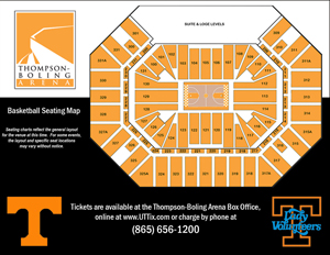 Thompson boling arena seating